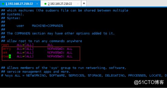 当sudo用户偶遇上VI/VIM发生了什么?(sudo+vi/vim=root)藏在三分钟时时彩你 身后的ROOT