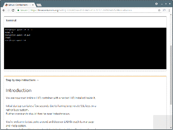 Linux Container在线Linux发行版