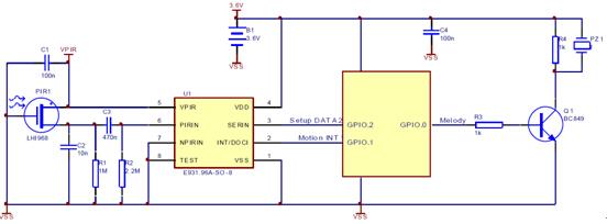 e931.96典型应用电路