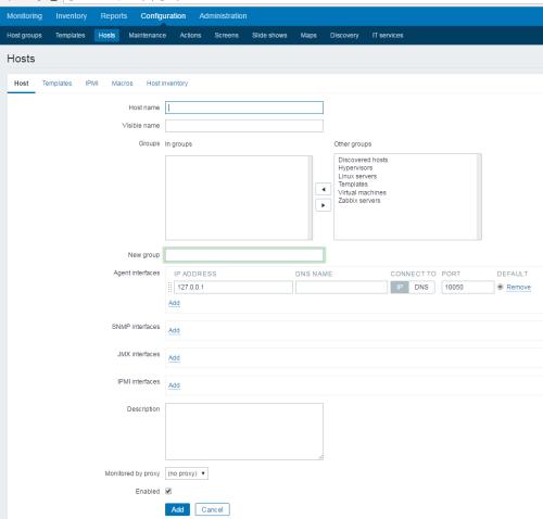 Zabbix-3.0.3使用默认模板监控MySQL