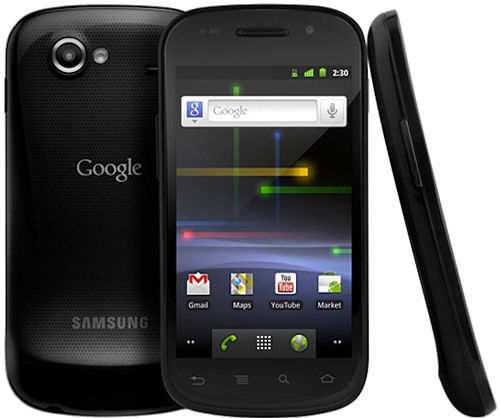 Nexus S,第一部三星制造的 Nexus 手机。