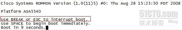 ASA 5540 enable密码破解-sunshine-51CTO博客
