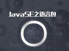JavaSE之语言包实战视频课程