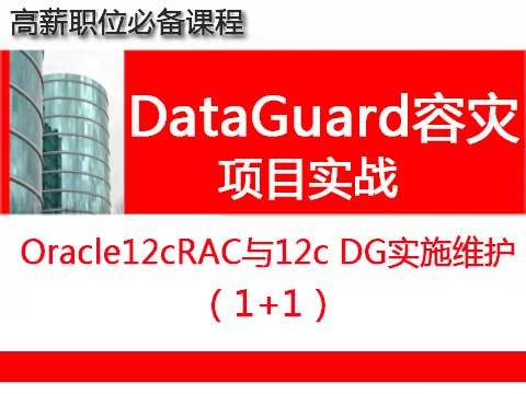 Oracle12cRAC+DataGuard安装实施维护1+1_数据库容灾专题