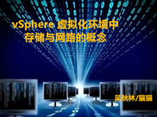 vSphere 虚拟化环境中存储与网路的概念实战视频课程