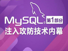 MySQL高级黑客 MySQL注入攻防技术内幕-第一部分视频课程