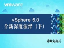 VMware vSphere 6.0 全新深度演绎视频课程(下)(虚拟机管理+可用性+资源管理+监控)