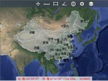 OpenGL 实现Google地图瓦片的绘制,漫游