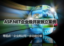 ASP.NET企业开发独立案例视频课程
