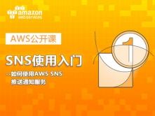 SNS使用入门 --如何使用AWS SNS推送通知服务视频课程