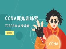 TCP/IP协议栈精讲视频教程(CCNA魔鬼训练营系列)