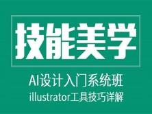 AI软件入门系统班-illustrator工具技巧讲解视频课程
