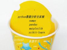 【Numpy、Pandas、Scikit-learn、Matplotlib】数据分析全家桶视频课程
