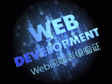 Web前端表单验证实战视频课程