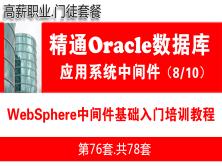 WebSphere中间件基础入门培训教程_WebSphere部署配置_应用系统中间件08