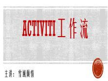 Activiti工作流权威指南视频课程