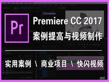 Premiere CC 2017 案例提高与快闪视频课程