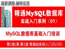 MySQL日常维护管理(初级)视频_MySQL数据库基础入门培训课程01