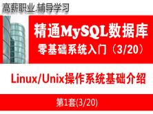 Linux/Unix操作系统基础知识_MySQL数据库入门必备系列教程03