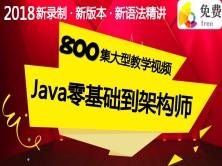 Java零基础_Java基础_Java入门_JavaSE视频_800集_第1季