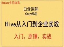 最新Hadoop框架之Hive应用视频教程(CeotOS版)