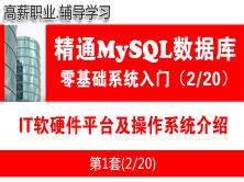 IT软硬件平台及操作系统介绍_MySQL数据库入门必备系列教程02