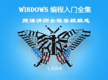 Windows编程基础课程全集(七日成蝶)