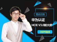華為HCNP-HCIEv3.0 OSPF視頻課程