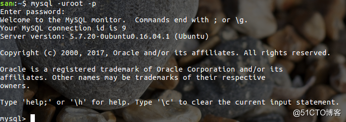 mysql数据库的使用与sql语句初识