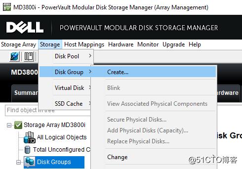 MD3800I双控+MD1200磁盘扩展柜配置