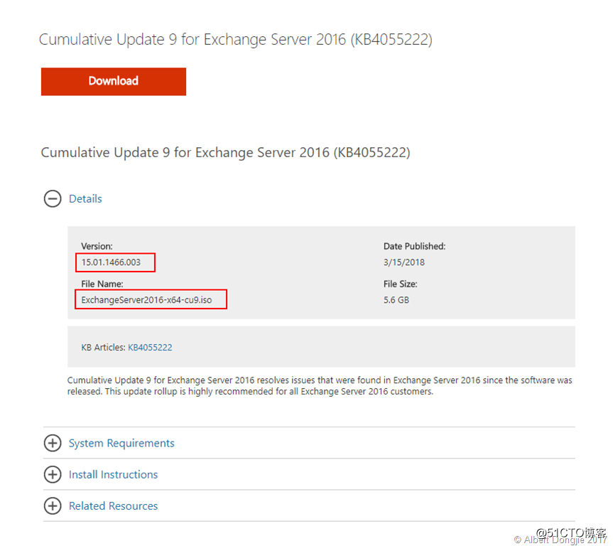 exchange server 2016 cu4 iso