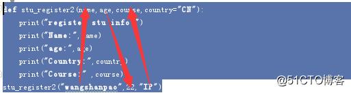 python-函数-参数