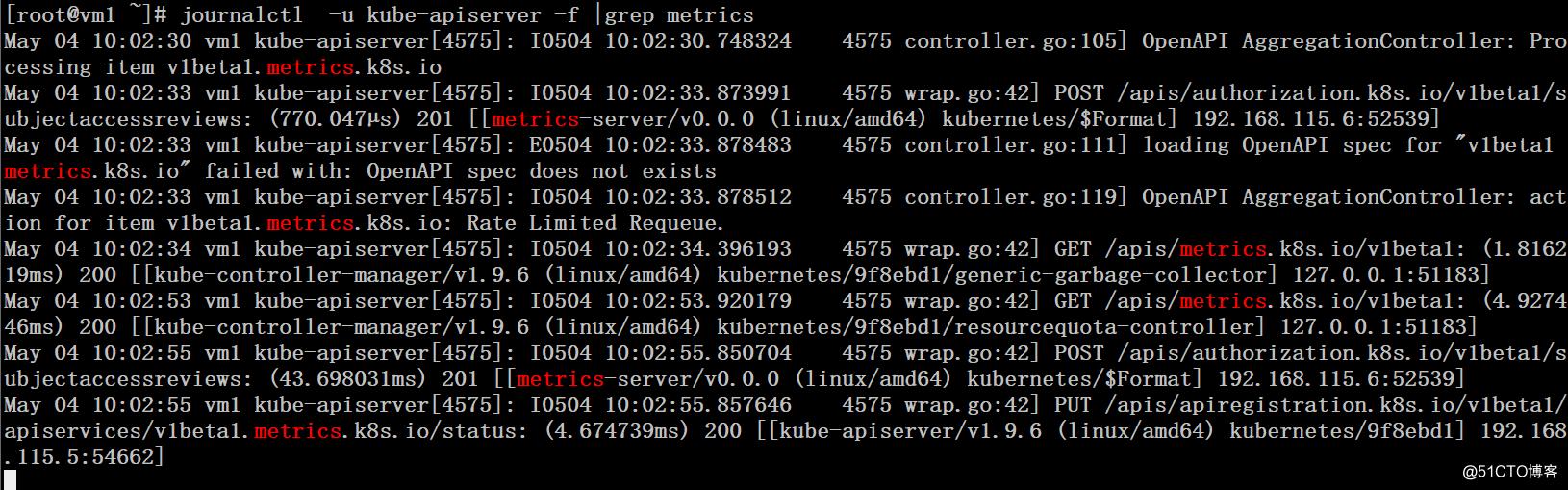 K8S集群基于metrics server的HPA测试