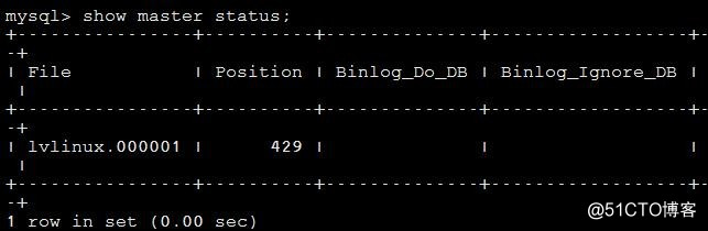 Linux学习总结(五十二)mysql 主从配置