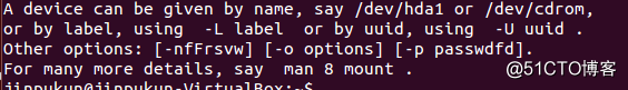 linux之mount(一)