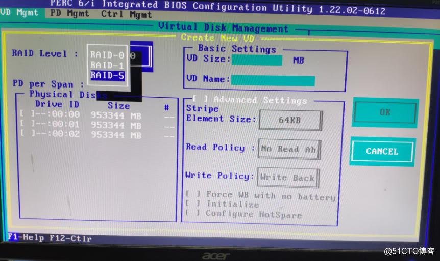 服务器做raid5