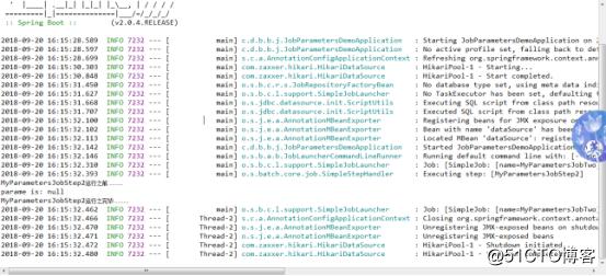 Spring-batch学习总结(2)—Job,Flow创建及应用,多线程并发