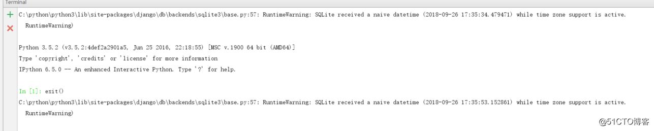 python3 Django 报错RuntimeWarning的解决办法