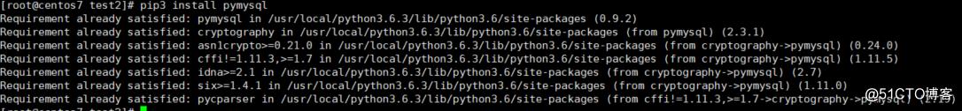 django安装了pymysql还报MySQLdb module: No module named