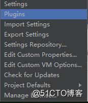 Configure选择Plugins