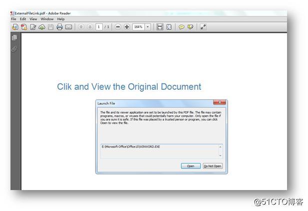 C# 添加超链接到PDF文档