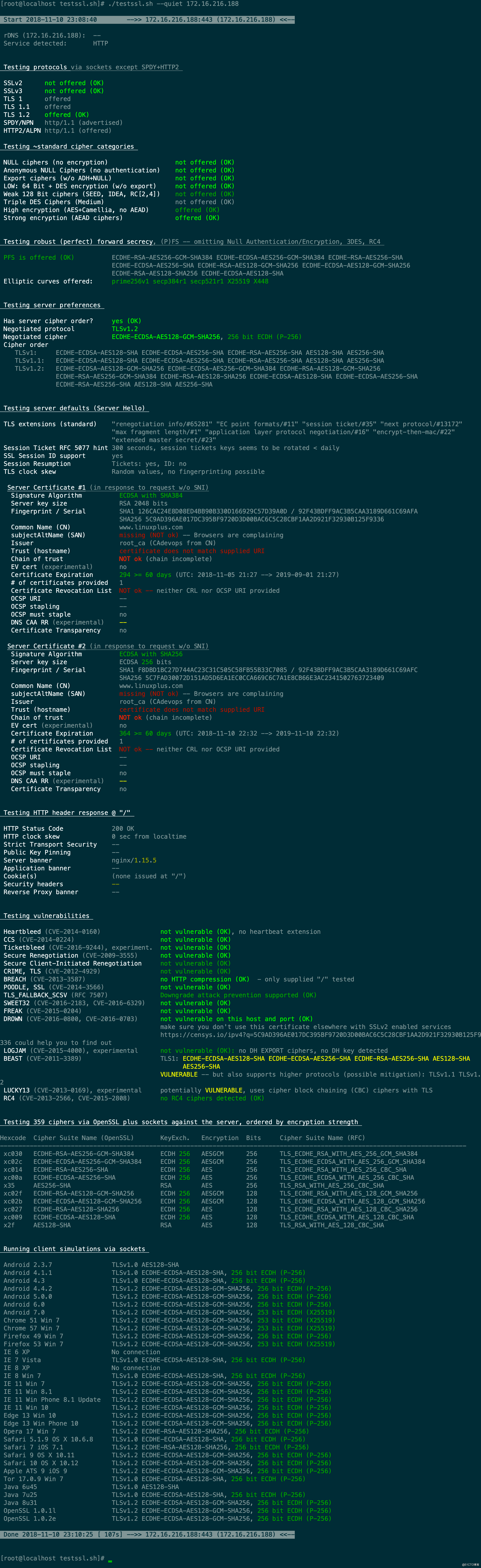 SSL/TLS深度解析--测试TLS/SSL加密-斯图尔特-51CTO博客