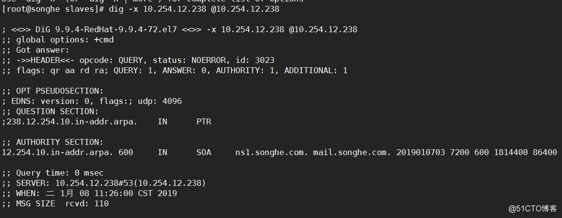 DNS服务器简单部署