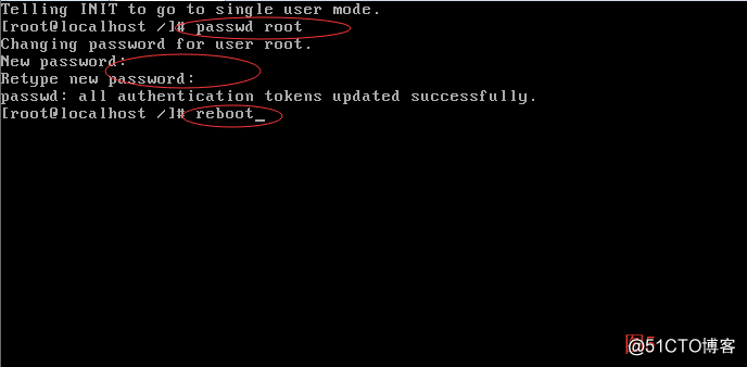 RedHat 6 重置root管理员密码的方法