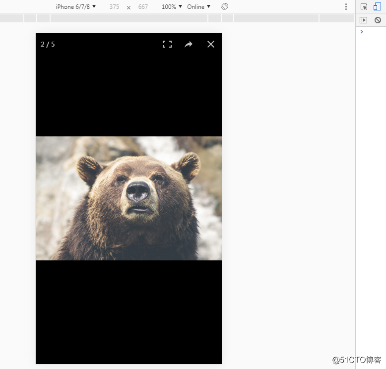 PhotoSwipe手机端图片弹出显示插件【使用笔记】