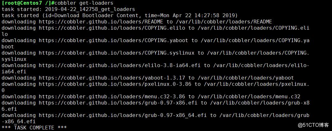 cobbler批量自动化部署linux系统
