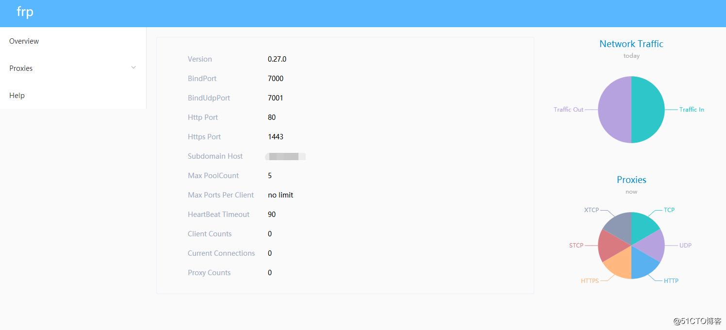 pfsense中增加内网穿透服务(frps)