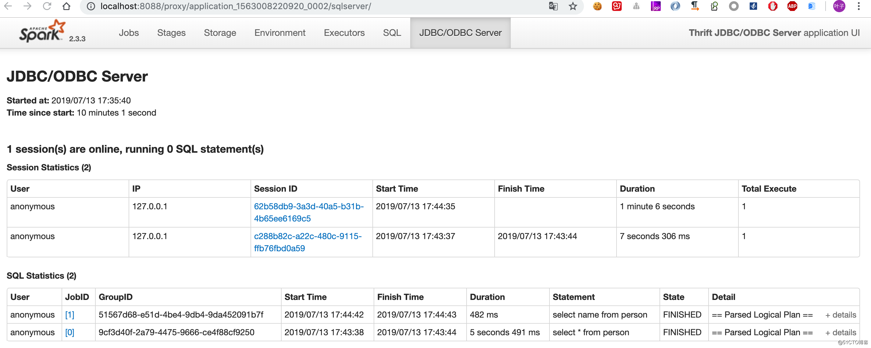 Spark Thrift JDBCServer应用场景解析与实战案例