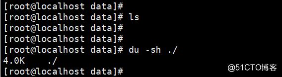 df看挂载数据盘满了,du/ls查看该盘下面无文件