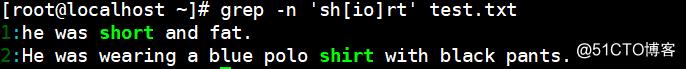 Shell脚本应用之正则表达式详解